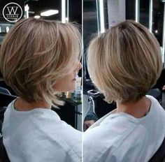 20 Chic Bob Haircut with Layers Short layered bob haircut bob hairstyles thin fine hair brown Short Layered Bob Haircuts, Angled Bob Hairstyles, Bob Hairstyles For Fine Hair, Short Bob Haircuts, Hairstyles 2018, Long Layered Bobs, Medium Short Hairstyles, Hair Cuts Short Layers, Short Bob With Layers