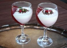 Efektný ovocný pohár - recept postup 12 Panna Cotta, Ethnic Recipes, Food, Essen, Yemek, Meals