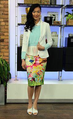 The New Skirt - The Elongated Pencil Skirt