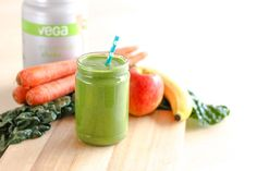 A delicious and good-for-you easy green smoothie