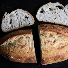 French country bread (Pain au levain) is so rewarding and so easy to make