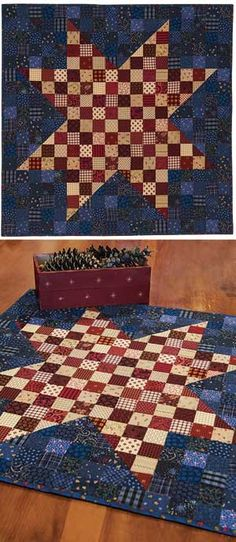 GLORY QUILT PATTERN on rock bottom clearance: Price reduced from $10 to just 99 cents at keepsakequilting.com
