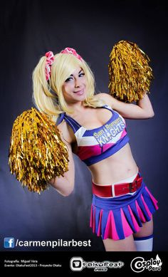 Me as Juliet from Lollipop Chainsaw Costume, wig styling and makeup made by myself Chainsaw made by Tankart Barrera Begazo https://www.facebook.com/tankart More info and full cosplay and modeling album http://www.facebook.com/carmenpilarbest Photo by: Cosplay Peru https://www.facebook.com/cosplayperu and Miguel vera:https://www.facebook.com/miguel.vera