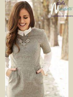 Te recomiendo utilizar layering look para quitar mas fácil el frió y verte súper fashion