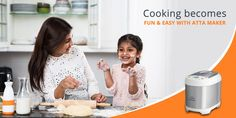 Many people find cooking to be a tedious task. Starting from chopping to peeling to kneading to finally preparing it takes a lot of time. But by using a dough maker you can easily minimize the hassle associated with it. Easy Cooking, Cooking Time, Kneading Dough, Pizza And More, Cooking Appliances, Homemaking, People, How To Make, Kitchen Gadgets