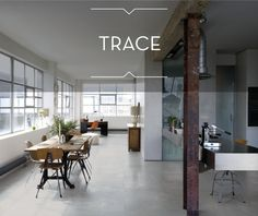 A modern #kitchen with #tiles metal effect http://www.caesar.it/piastrelle-gres-porcellanato/1581-trace/index.jsp