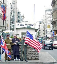 Checkpoint Charlie in Berlin, Berlin