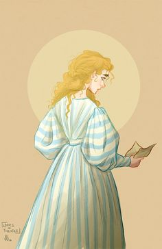 """""""What's the matter with you Cosette? Have you been too much on your own? So many things unclear; so many things unknown…"""" Day 214: Cosette Fauchelevant (Les Miserables)"""