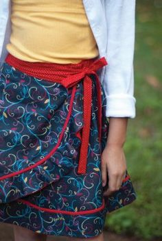 Easy-sew wrap skirt | Sew Beautiful Magazine