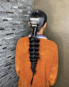 Protective hairstyles 333477547412168245 - Source by Limitlesschris Hair Ponytail Styles, Weave Ponytail Hairstyles, Dope Hairstyles, Sleek Ponytail, Toddler Hairstyles, Protective Hairstyles, Summer Hairstyles, Protective Styles, Hairstyle Ideas