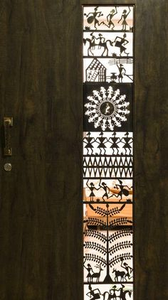 The Latest Front Door Ideas That Add Curb Appeal, Value to Your Home entrance design & entrance ideas online - TFOD Main Entrance Door Design, Front Door Design, Gate Design, Entrance Doors, House Design, Entrance Ideas, Door Ideas, Design Homes, House Entrance