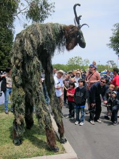 Stilt Creature by DoNotLick, via Flickr