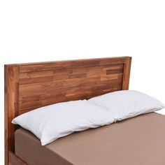 Libby Acacia Wooden Bed |up to 60% OFF RRP| Next Day - Select Day Delivery