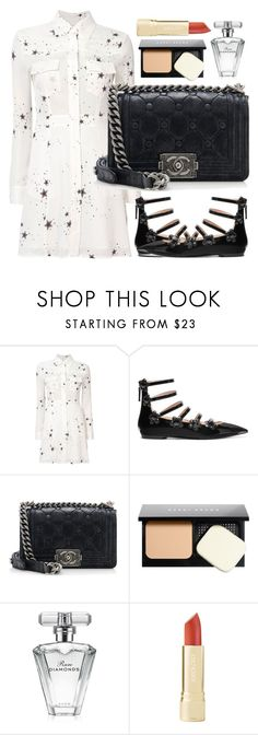 """""""Untitled #443"""" by ngkhhuynstyle ❤ liked on Polyvore featuring A.L.C., Fendi, Chanel, Bobbi Brown Cosmetics and Avon"""