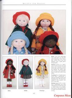 Cloth Dolls (sewing dolls) - Handicraft Club - Country Mom