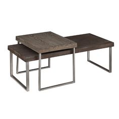 Found it at AllModern - Newberry 2 Piece Nested Coffee Table Set http://www.allmodern.com/deals-and-design-ideas/p/Top-Rated-Coffee-Tables-Newberry-2-Piece-Nested-Coffee-Table-Set~UT3508~E22433.html?refid=SBP.rBAZEVXTUMkYV1eDgap1Akkl-2dnskKJqpMrknNwf8Q