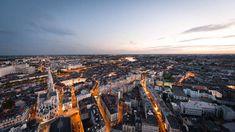 la ville de Nantes  #bluehour #heurebleue #nantes Destinations, Ville France, Car Rental, Lonely Planet, San Francisco Skyline, Paris Skyline, Travel, History Websites, Board