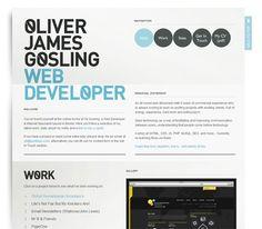 15+ Clean and Minimalistic Online Portfolio Designs for Inspiration