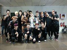 EXO SHINee, EXO & Super Junior