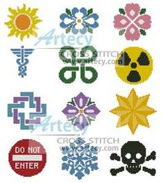 Little Designs 1 cross stitch pattern.