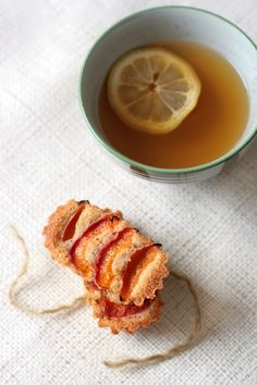 apricOt lavender brOwn butter tea cakes
