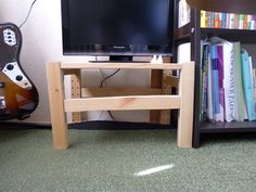 lopsided ivar TV stand