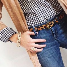 Preppy with an edgy twist!