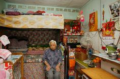 German photographer Michael Wolf takes 100 pictures of 100 Hong Kong homes which measure square feet. Wolf Photography, Urban Photography, Kowloon Hong Kong, Michael Wolf, China Architecture, Chinese Interior, Wolf Life, Old Room, Modern Metropolis