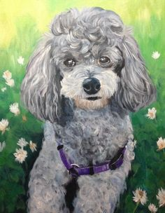 poodle painting - Google Search