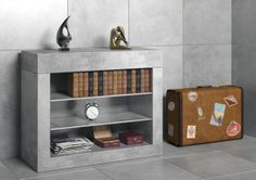Przedstawiamy Wam komodę z serii mebli Modular!  Materiał: beton architektoniczny.   Wymiary: wysokość - 90 cm, szerokość - 110 cm, głębokość - 45 cm.  Istnieje możliwość zamówienia komody w dowolnym wymiarze i w kolorach zbliżonych do palety RAL.