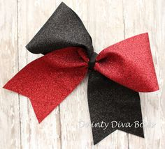 Hey, I found this really awesome Etsy listing at https://www.etsy.com/listing/200265046/large-glitter-cheer-bow-sparkle-bow-red