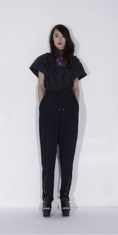 LOOK | 2015 SS TOKYO COLLECTION | TOGA PULLA | COLLECTION | WWD JAPAN.COM Toga Pulla, Look 2015, Ss 15, Jumpsuit, Spring Summer, Chic, Collection, Tokyo, Dresses