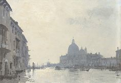 Early Morning, The Grand Canal - Venice Lord Of War, Grand Canal Venice, Early Morning, Oil On Canvas, Watercolor Paintings, Taj Mahal, Around The Worlds, Fine Art, Explore