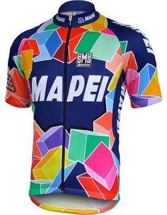Mapei Retro Jersey - Short ... Jersey Outfit d1d627ee6