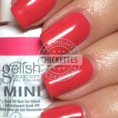 Gelish A Petal For Your Thoughts Swatch - Love in Bloom Collection