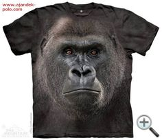 Gorilla T-Shirt with Big Face Lowland Gorilla Adult design by The Smithsonian. Get The Mountain Zoo Animal T-Shirt Collection here we have the lowest prices Big Face, Adult Children, Tye Dye, Zoo Animals, Ink Color, T Shirts, Screen Printing, Graphic Tees, Unisex