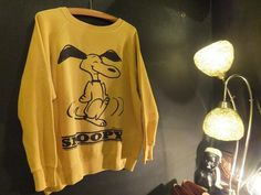 1960's SPRUCE SNOOPY COTTON SWEAT