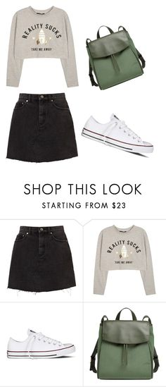 """""""School outfit"""" by indrasavje-1 on Polyvore featuring Converse and Skagen"""