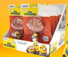 Minions (Bob, Kevin & Stuart) Parachute Balls Outdoor Toy