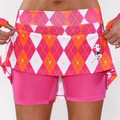 3. Favorite Athletic Apparel - A fun and funky running skirt is functional with shorts underneath and allows for a bright fun workout!! #CheapSally #Fitness