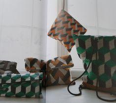 Optical crochet patterns from Virkkuri II