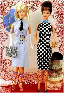 Mimin Dolls: Barbie Clothing - Free Pattern