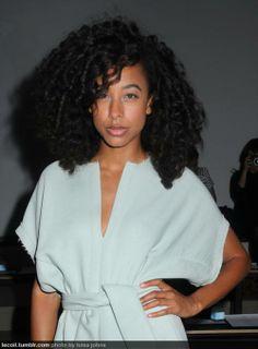 Corine Bailey Rae's sexy natural #hair  #curls