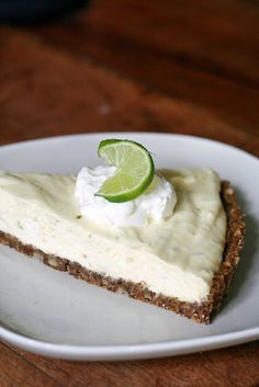 It's a tradition with my kids to make a key lime pie to commemorate the last day of school/ first day of summer break. I think a found a new recipe to try next week!