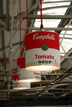 CAMPBELL'S CAN LIGHT by Willem Heeffer