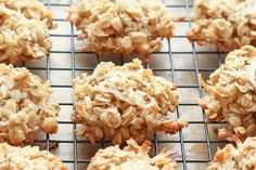 Chewy Coconut Oatmeal Cookies (36) can be GF by Barefeet In The Kitchen