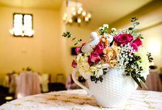 Заварной чайник вместо вазы
