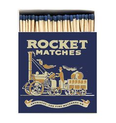 Luxury matchboxes from Archivist Press. Sadly, unavailable outside of the UK.