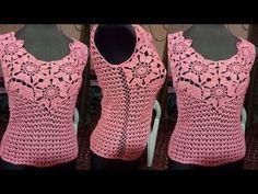 Fabulous Crochet a Little Black Crochet Dress Ideas. Georgeous Crochet a Little Black Crochet Dress Ideas. Black Crochet Dress, Crochet Blouse, Love Crochet, Crochet Lace, Crochet Bikini, Crochet Stitches Patterns, Crochet Designs, Crochet Summer Tops, Lace Tunic
