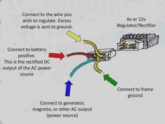 New Rectifier Circuit Diagram – Diagram Sample Outlet Wiring, 50cc Moped, Motorcycle Wiring, Mini Chopper, T Max, Circuit Diagram, Ac Power, Search, Toys